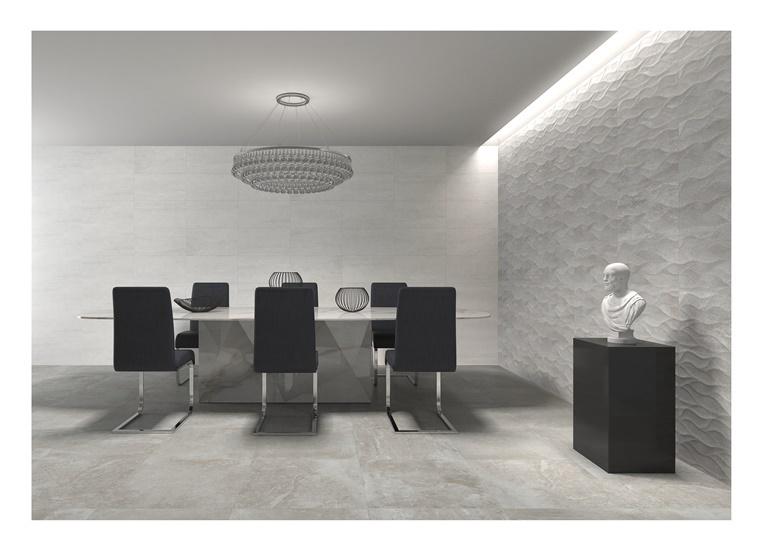 Keraminės grindų plytelės Kronos Gris, 45 x 45 cm