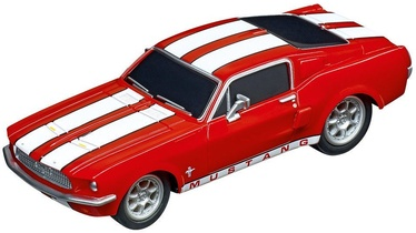Carrera GO!!! Slot Car Ford Mustang 67 Race Red 64120