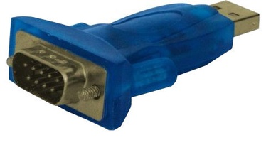 Savio Adapter USB / RS-9pin Blue