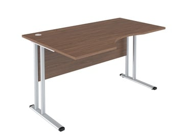 Skyland Imago-M SA-2M Left Work Desk 140x90cm French Walnut