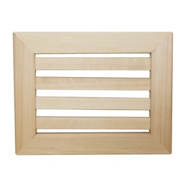 SN Wooden Ventilation Grill 170x130