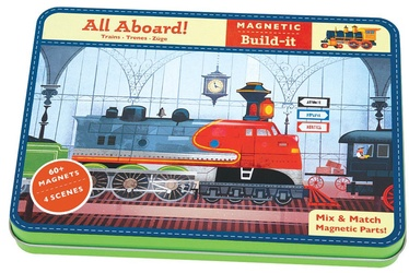 Mudpuppy All Aboard! Magnetic Build-it