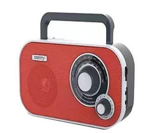 Kaasaskantav raadio Camry CR1140R Red