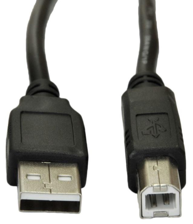 Akyga Cable USB / USB 3m Black