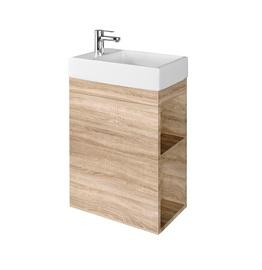 Pakabinama spintelė voniai SA 40L OAK su praustuvu