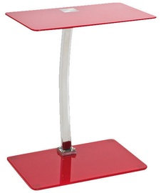 Signal Meble Lifto Table 32x48x60cm Red