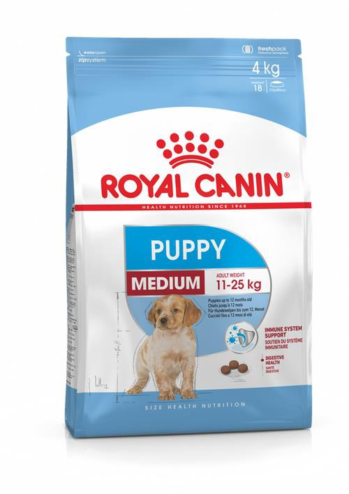 Сухой корм для собак Royal Canin SHN Medium Puppy 15kg
