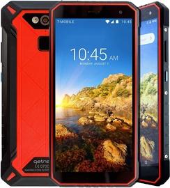 Mobilusis telefonas Getnord, juodas/raudonas, 4GB/64GB