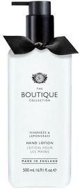 The English Bathing Company Boutique Hand Lotion 500ml Sea Breeze & Lemongrass