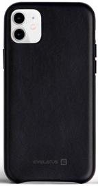 Evelatus Leather Back Case For Apple iPhone 11 Black