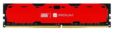 GoodRam IRIDIUM Red 4GB 2400MHz CL 15 DDR4 DIMM IR-R2400D464L15S/4G