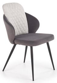 Halmar K408 Chair Light/Dark Grey