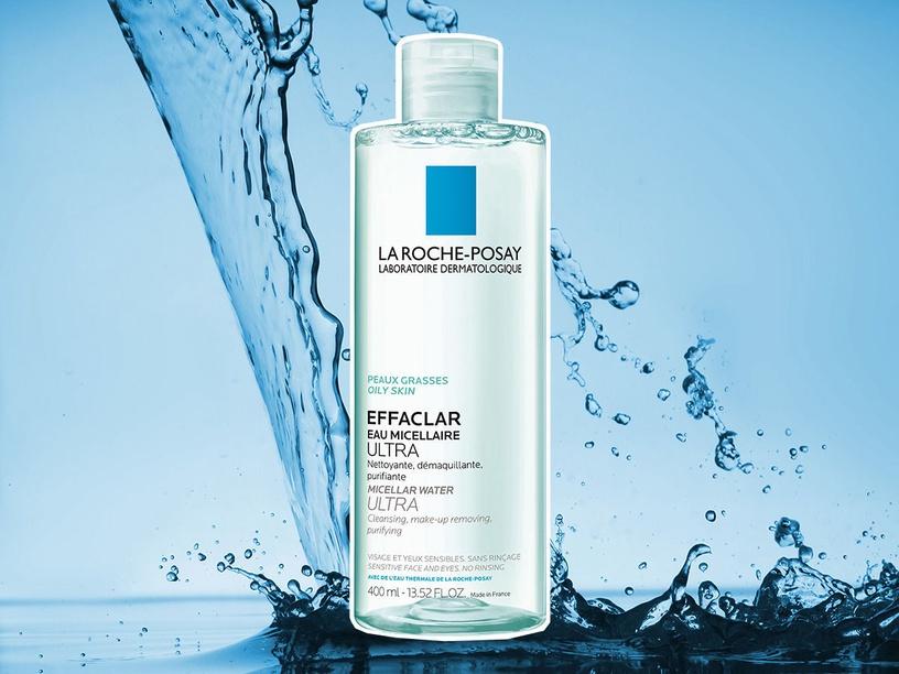 Makiažo valiklis La Roche-Posay Effaclar Purifying Micellar Water, 400 ml