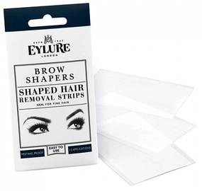 Eylure Brow Shapers Shaped Hair Removal Strips 30pcs