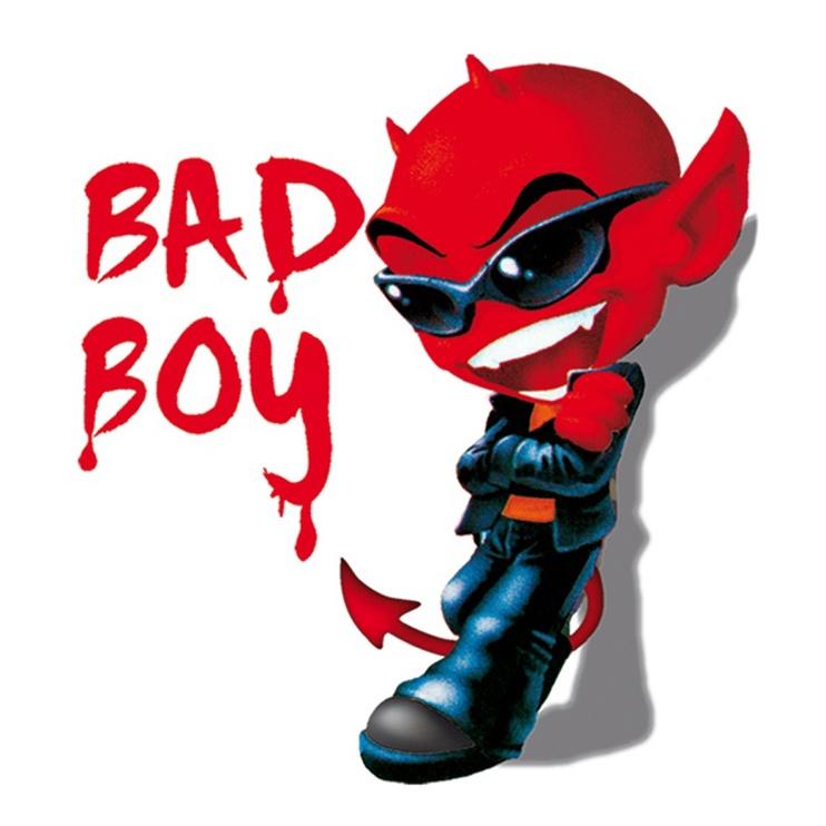SN Car Sticker Bad Boy Devil 1/02002