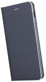 TakeMe Metal Edge Shine Book Case For Samsung Galaxy S10e Blue