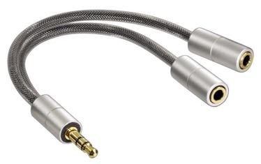 Hama Adapter 2x 3.5 mm /3.5 mm 0.1m