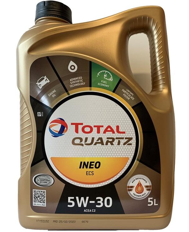 Motoreļļa Total Quartz Ineo ECS 5W30 5l