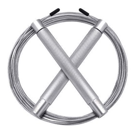 RDX Sports Iron Jump Rope Silver SRI-C4