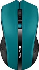Kompiuterio pelė Canyon CNE-CMSW05 Green, bevielė, optinė