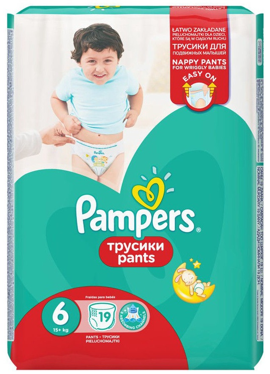 Pampers Pants S6 19