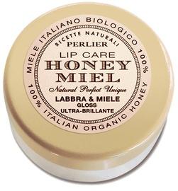 Блеск для губ Perlier Honey Lip Care Ultra Brilliant Transparent, 5 мл