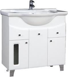 Шкаф для ванной MN Klassik 75 700x715x360mm White