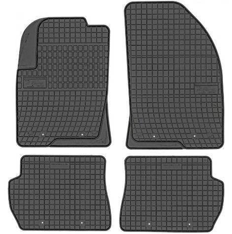Резиновый автомобильный коврик Frogum Ford Fiesta / Mazda 2, 4 шт.