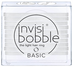 Invisibobble Basic Light Hair Rings 10pcs Crystal Clear