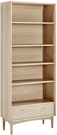 Home4you Riga Shelf 80x37x200cm Light Oak