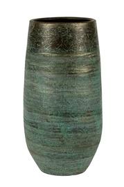 Keraamiline vaas NDT Serena 1-02A, roheline, 25 x 50 cm