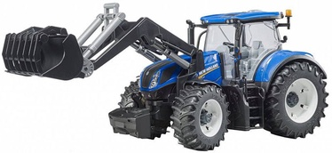 Bruder New Holland T7.315 With Slip-On Front Loader 3121