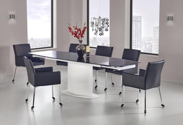 Halmar Dining Table Anderson Black White