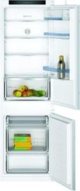 Iebūvējams ledusskapis Bosch KIV86VSE0, saldētava apakšā