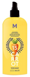 Mediterraneo Sun Carrot Sunscreen Dark Tanning Spray SPF15 100ml