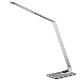 Galda lampa Futura MA70 LED 9W DIM USB, sudraba
