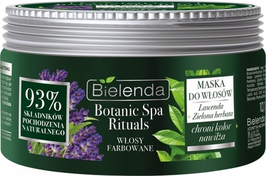 Kaukė plaukams Bielenda Botanic Spa Rituals Lavender + Green Tea, 300 g