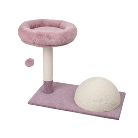 SN Scratching Post 60x34x50cm Pink/White