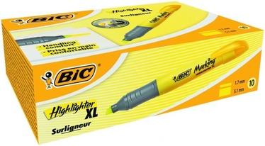 BIC Brite Liner XL Text Marker Yellow 10pcs 891396