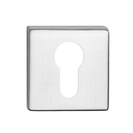 Durvju aizsargplāksnīte Metal-Bud Topaz Keyhole Cover Stainless Steel