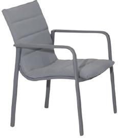 Sodo kėdė Domoletti, pilka, 65x57x84 cm