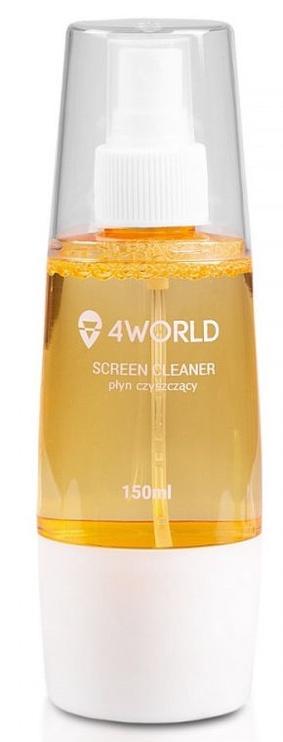 4World Cleaning Kit 150ml+Cloth Orange