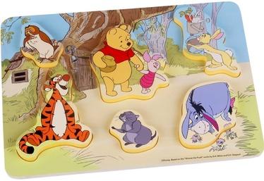 Puzle Disney Winnie The Pooh, 7 gab.