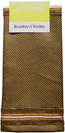 Bradley Kitchen Towel 40x60cm Wafer Brown
