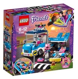 Konstruktorius LEGO Friends, Darbinis sunkvežimis 41348