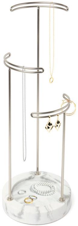 Umbra Tesora Jewelry Stand White