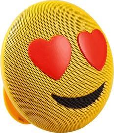 Niveda Bluetooth Speaker Heart Face Yellow