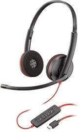 Ausinės Plantronics Blackwire C3220 USB-C