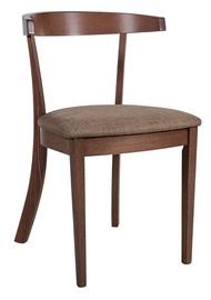 Valgomojo kėdė Home4you Adele Light Brown 21912