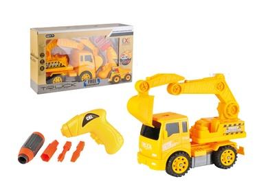 Žaislinė konstrukcinė mašinėlė cxl200-15